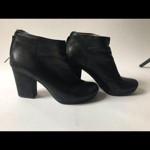 Madewell Black Heeled Boots